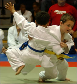 Youth Judo Tournament Competition